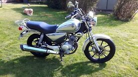 Yamaha ybr 125 custom (65 plate)