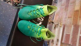 Boys Adidas Astro turf boots 3 REDUCED