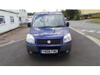 08 FIAT DOBLO WHEEL CHAIR/SCOOTER SPECIALIST ADAPTED VEHICLE AMAZING VALUE FOR MONEY, ANY INSPECTION