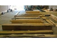 300 x 300 x 3.8 m oak beam