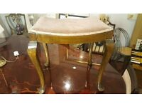 Antique Piano / Dressing Table Stool