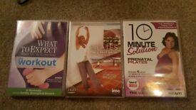 Pregnancy yoga DVDs