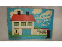 Vintage 1969 The House that Jack Built Game