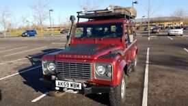 Fully expedition prepared 2009 Defender 110 2.4 tdci XS Station wagon