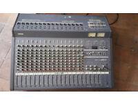 Yamaha 16 Channel Analog Mixing Desk