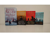 Jeffrey Archer Clifton Chronicles 3 books and A Prisoner of Birth