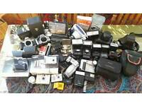 Job lot of Cameras and Accessories - Bundle