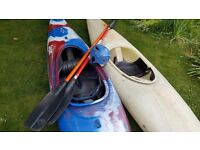 Dagger Outburst and Perception Kayaks for sale