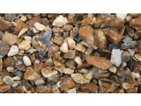 20mm Quality Washed Driveway Gravel £45 + VAT **1 Tonne Bulk Bag**