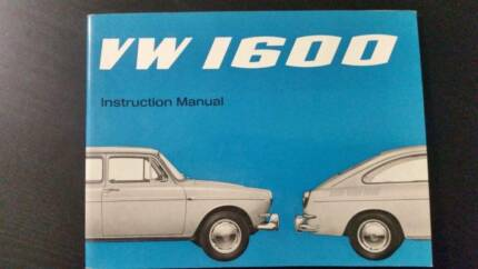 VW 1600 Fastback owners manual brand new NOS Croydon Park Port Adelaide Area Preview