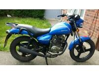 2016 zontes tiger 125 learner legal 14 month mot