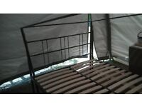 Four poster kingsize double bed