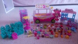 Various Shopkins Toys