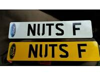 Private reg NUTS ,perfect xmas present