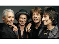 x2 Rolling Stones Friday standing 25th May 2018 - printed tickets