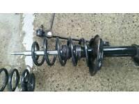 Standard suspension no top mounts