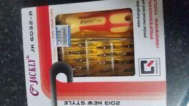 Joblot / bundle jackly multidriver set screwdriver