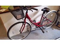 """Apollo Cafe Womens Hybrid Bike - 19"""" - Collection Only"""