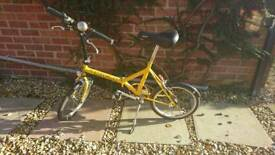 Folding bike bicycle 100% condition