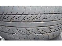 "FREE! 4 X 18"" TYRES NOT LEGAL FOR BACK GARDEN OR KIDS PLAY AREA"