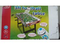 Kids 3ft Chad Valley Football Table