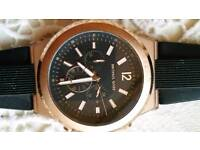 MICHAEL KORRS ROSEHOLD MANS WATCH