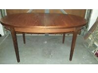 table 5 feet with extension 20 inches