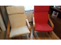 Armchairs x 2 - excellent condition!