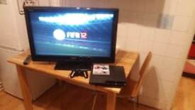 Sony PlayStation 3 Slim 160GB Charcoal Black Console CECH-2503A - 1 CONTROLLER