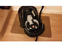Silver Cross Ventura Plus Car Seat Baby seat 0-13kgs birth to 18 months