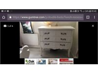 French rococo bedroom furniture set