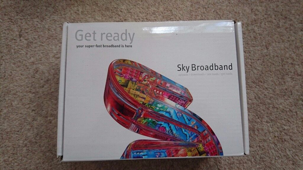 Sky Broadband Router Hub (BOXED)