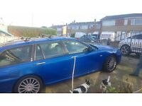 MG ZT-T automatic diesel trophy blue in use daily