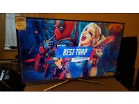 """SAMSUNG 55"""" Smart 4K UHD HDR LED TV-UE55KU6400,built in Wifi,Freeview,Excellent condition"""