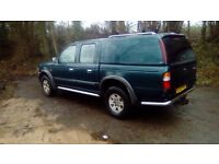 Ford Ranger double-cab pickup great condition, not abused, very tidy, great runner 12 months MOT