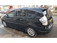 Toyota prius plus 7 seater Private Family Car