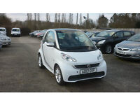 SMART FORTWO 1.0 MHD Passion Softouch 2dr Auto (white) 2013