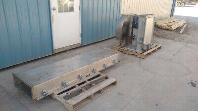 Stainless Steel 4 X 6 Bucket Elevator Leg Bucket Conveyor