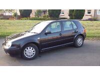 VW Golf E 2003
