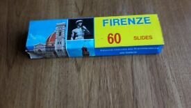 60 35mm slides of Florence