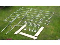"""4' X 2'6"""" X 13'9"""" TOPTOWER SCAFFOLD TOWER - EXCELLENT CONDITION"""