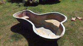 Pond, fibreglass