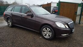 2012/62 Mercedes E220 CDI Auto 7-G Tronic Start/Stop Estate