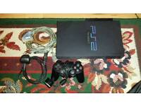 Sony PlayStation 2 Console + HD Advance Bundle - Excellent Condition