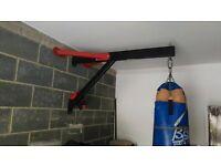 punch bag glives wall bracket