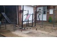 Gym equipment for home.