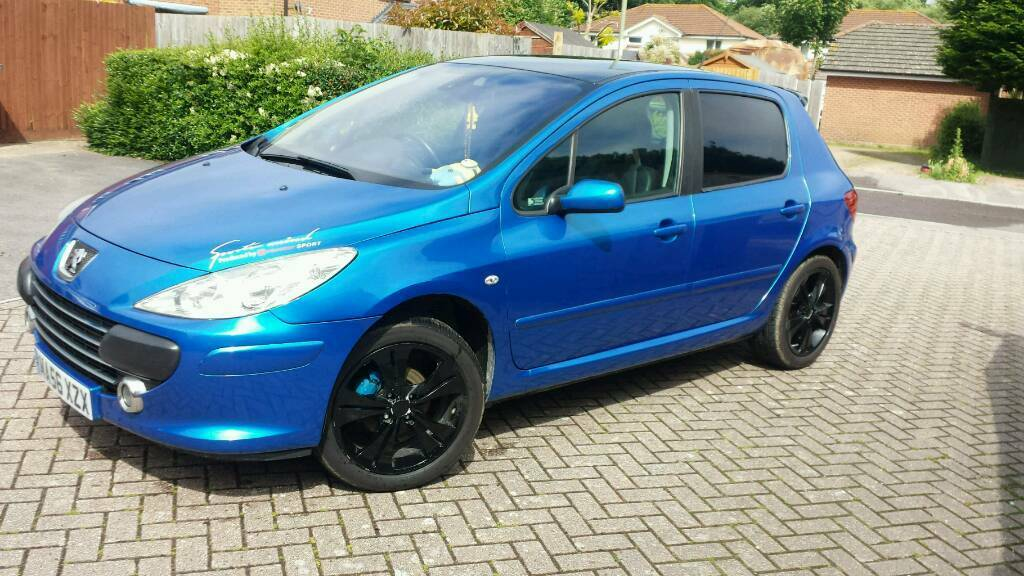 peugeot 307 2006my sport low mileage blue 5 door no swap px in gosport hampshire gumtree. Black Bedroom Furniture Sets. Home Design Ideas
