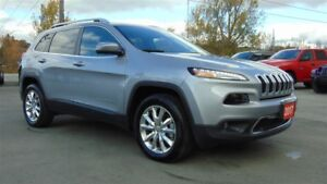 2017 Jeep Cherokee LIMITED 4X4 - CHRYSLER CANADA EXECUTIVE DEMO