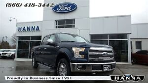 2017 Ford F-150 *NEW*0% 72 MONTHS*SUPERCREW LARIAT*CHROME*4X4 5.