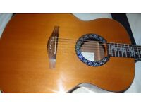 AVALON SilverSeries acoustic guitar with Fishman